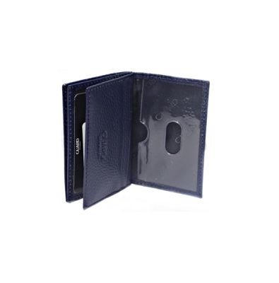 Guard Men's Leather Wallet / 1169 / Navy Blue