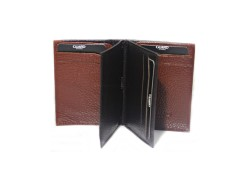 Guard Men's Leather Wallet / 1309 / Brown - Thumbnail