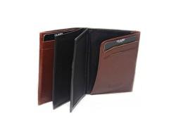 Guard Men's Leather Wallet / 1309 / Brown - Thumbnail
