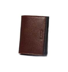 Guard Men's Leather Wallet / 1309 / Ginger - Thumbnail
