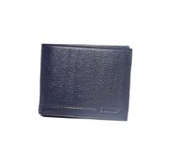Guard Men's Leather Wallet / 743 / Navy Blue - Thumbnail