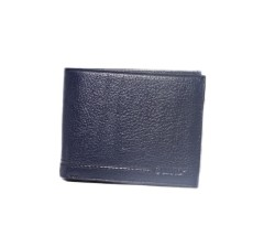 Guard Leather - Guard Men's Leather Wallet / 743 / Navy Blue