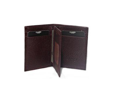 Guard Men's Leather Wallet / 863 / Burgundy