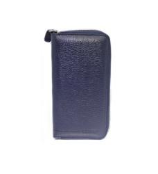 Guard Unisex Leather Wallet / 3016 / Navy Blue - Thumbnail