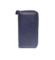 Guard Leather - Guard Unisex Leather Wallet / 3016 / Navy Blue
