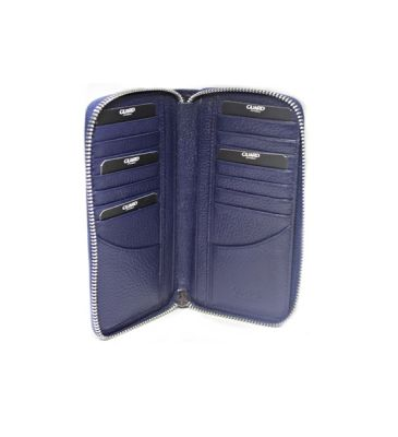 Guard Unisex Leather Wallet / 3016 / Navy Blue