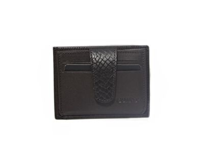 Guard Unisex Leather Card Holder / 5246 / Brown