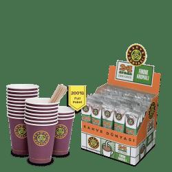 Kahve Dünyası - Kahve Dünyası Hazelnut Flavored 2in1 Full Package of 200