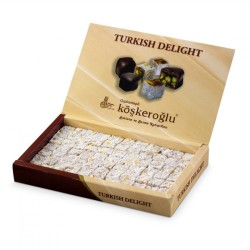Köşkeroğlu - Köşkeroğlu Double Roasted Turkish Delight with Coconut