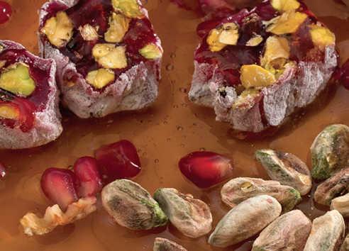 Hafız Mustafa Honey Pomegranate with Pistachio Delight 1 kg