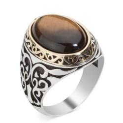 Anı Yüzük - Anı Yüzük Kaplangozu Stone Aks-i Seda Ring