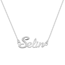 Tesbihane - Customized 925 Sterling Silver Women's Necklace