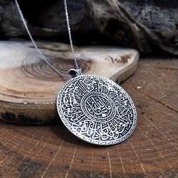Tesbihane - Customized Locket 925 Sterling Silver Necklace