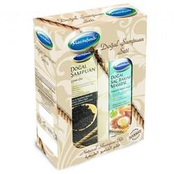 Mecitefendi - Mecitefendi Natural Shampoo Set - Black Seed + Hair Care Mask 250 ML