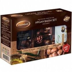 Mecitefendi - Mecitefendi Organic Argan Oil Care Set for Dry Skin