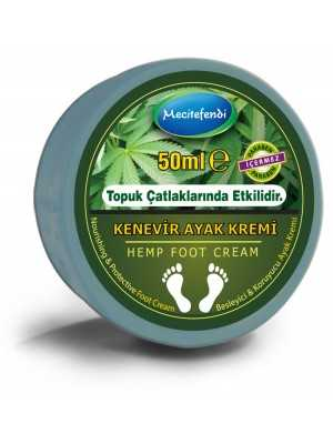 Mecitefendi Natural Hemp Feet Care Cream 50 ml