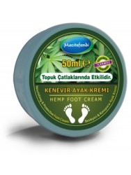 Mecitefendi - Mecitefendi Natural Hemp Feet Care Cream 50 ml