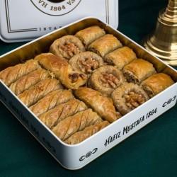 Mixed Walnut Baklava Hafız Mustafa 1 kg - Thumbnail