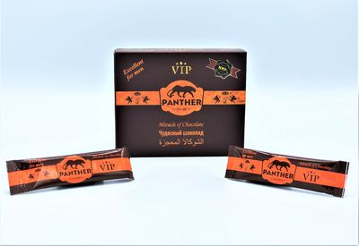 Panther 12 Sachets Honey Excellent for Men VİP (Ultra Strong)