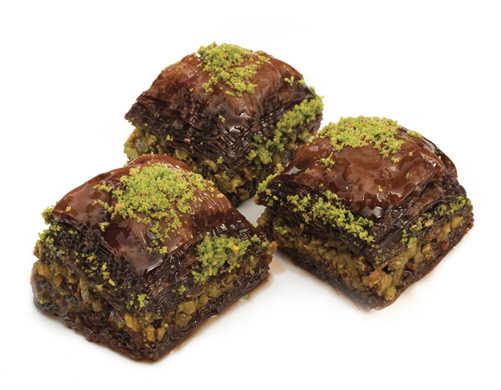 Hafız Mustafa Pistachio Baklava with Chocolate 1 kg