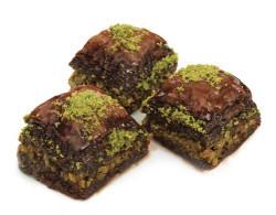 Hafız Mustafa Pistachio Baklava with Chocolate 1 kg - Thumbnail