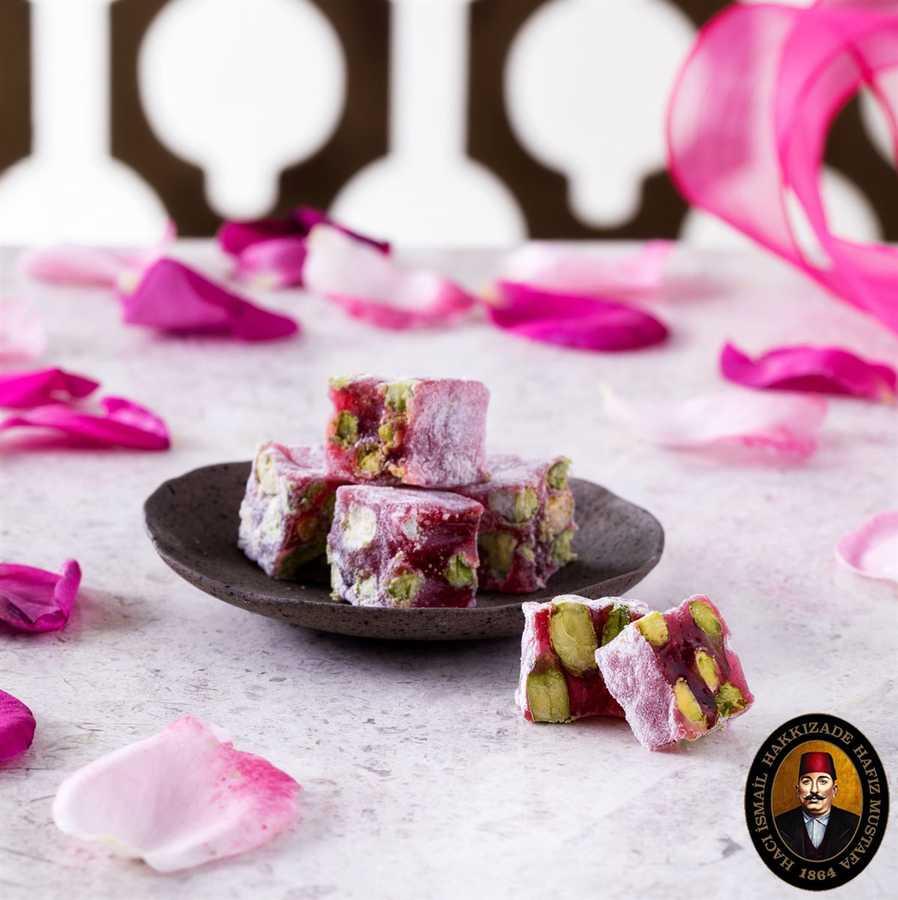 Hafız Mustafa Pistachio with Roses Delight 1 kg