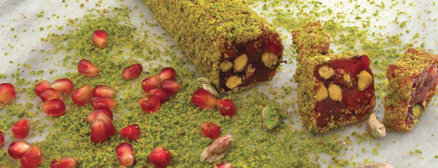 Hafız Mustafa Pomegranate with Double Pistachio Delight 1 kg
