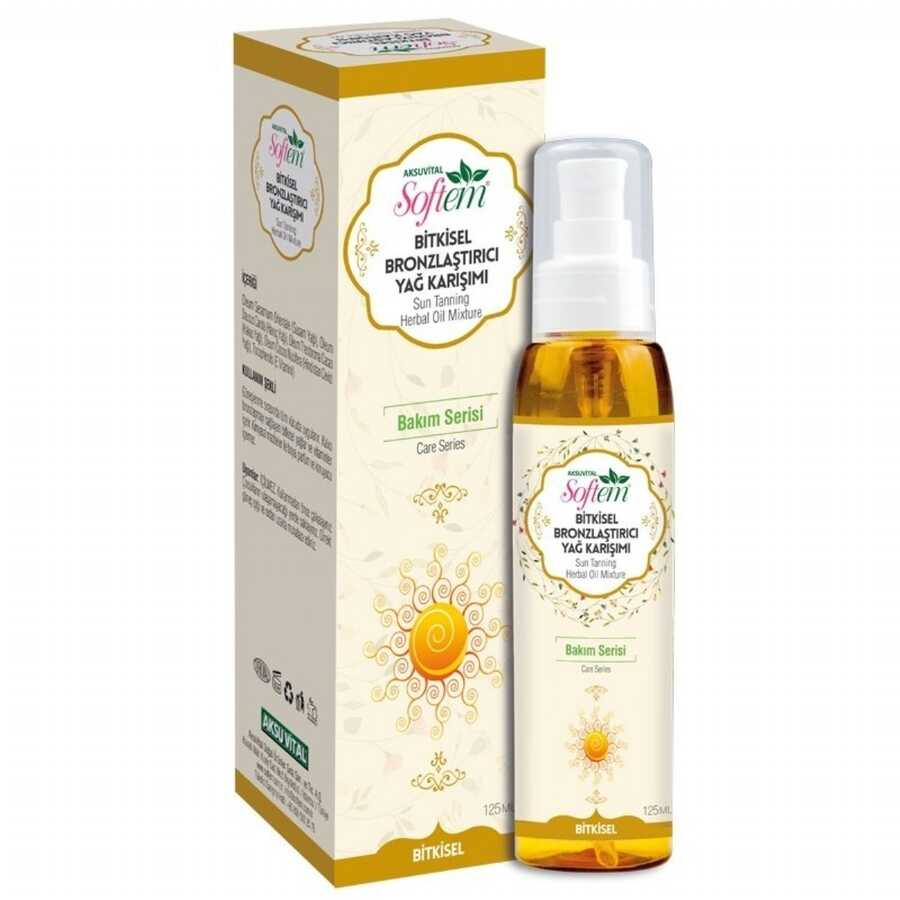 Softem - Aksu Vital Bronzing Oil Mix 125 ML