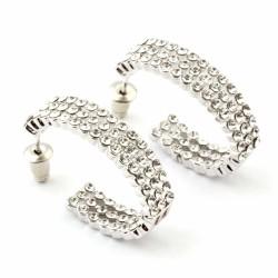 Welch Fine Swarovski Women's Earrings - Thumbnail