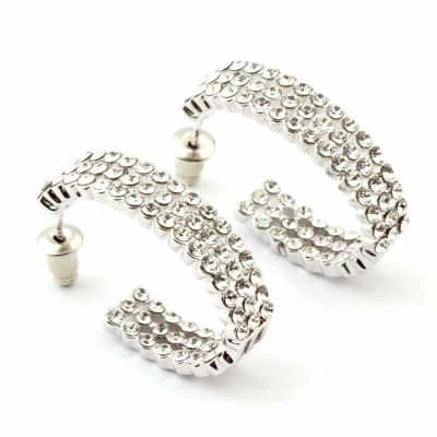 Welch Fine Swarovski Women's Earrings