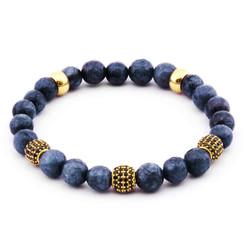 Tesbihane - Zirconia Globe Cut Agate Women's Bracelet